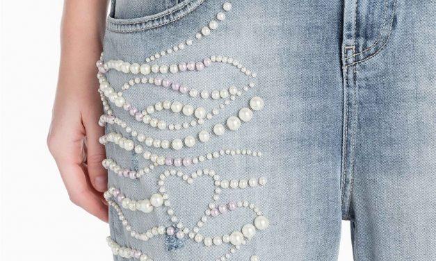 Rediseña tus jeans con mucha onda.