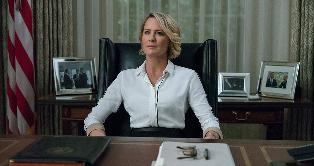 House Of Cards le pertenece a Claire!