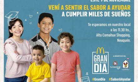 "McDonald's presenta la jornada solidaria ""Gran Día"""