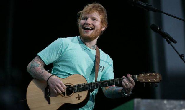 Todos quisiéramos ser Ed Sheeran!