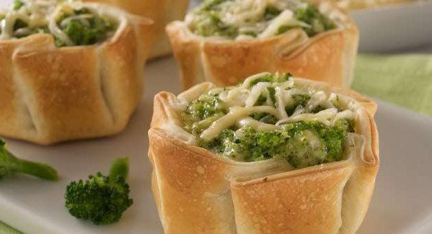 Canastitas de Brócoli!