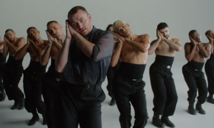 Sam Smith nos deslumbra con su baile!