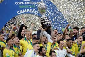 Brasil campeón de la Copa América!