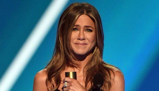 Jennifer Aniston y su premio al ícono!