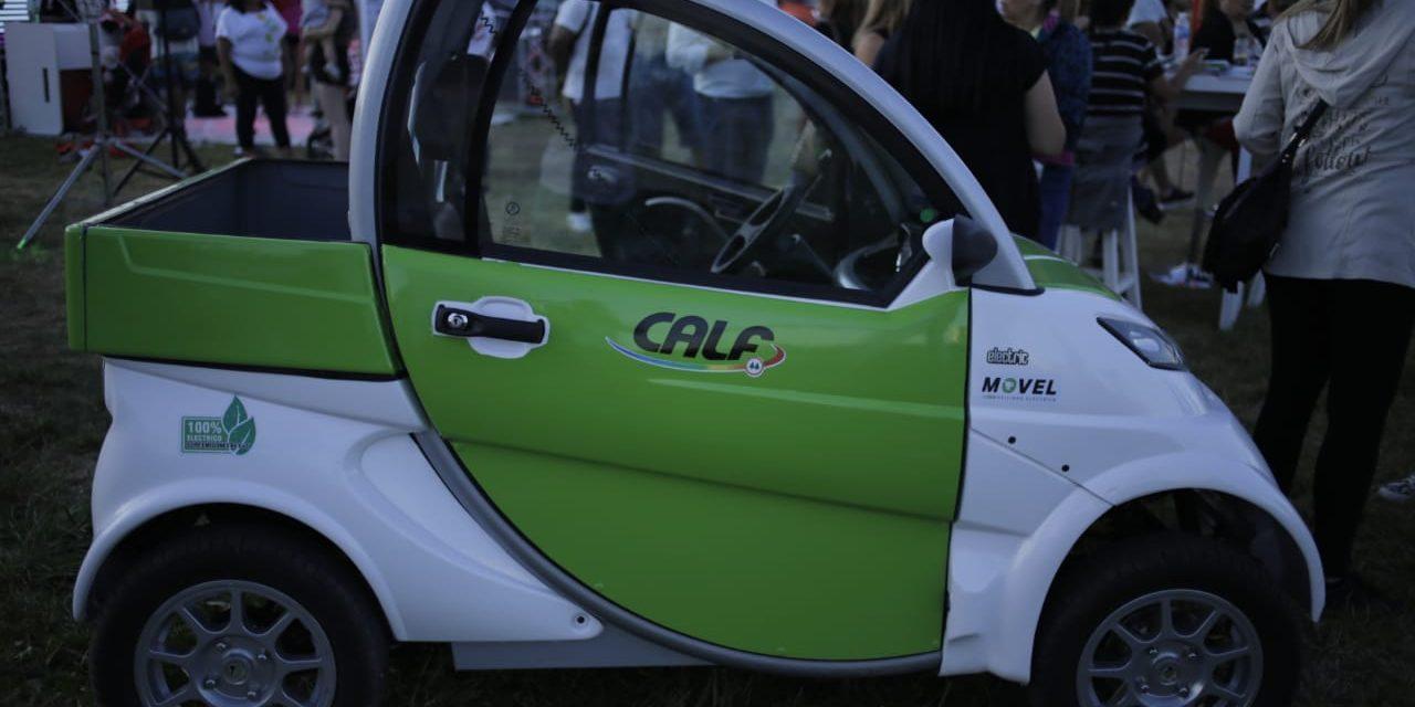 CALF hace historia con sus autos 100 % eléctricos