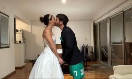 Un casamiento virtual!