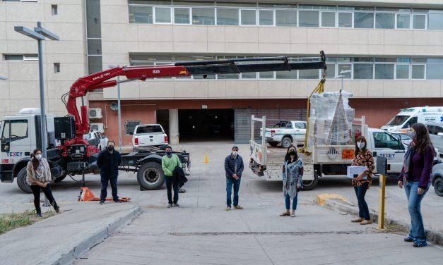 Tecpetrol apoyó con insumos a hospitales de Neuquén