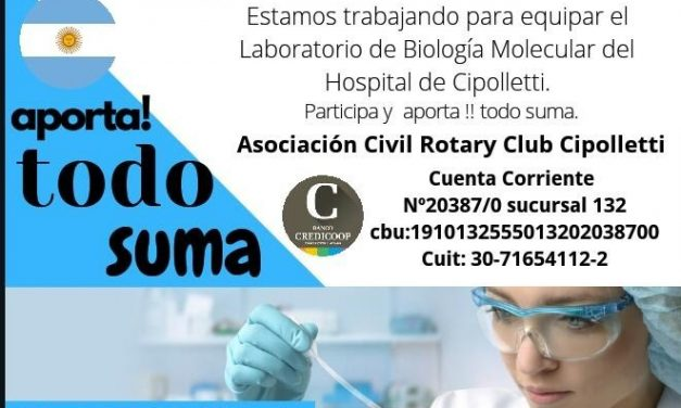 Rotary Cipolletti, TODO SUMA !